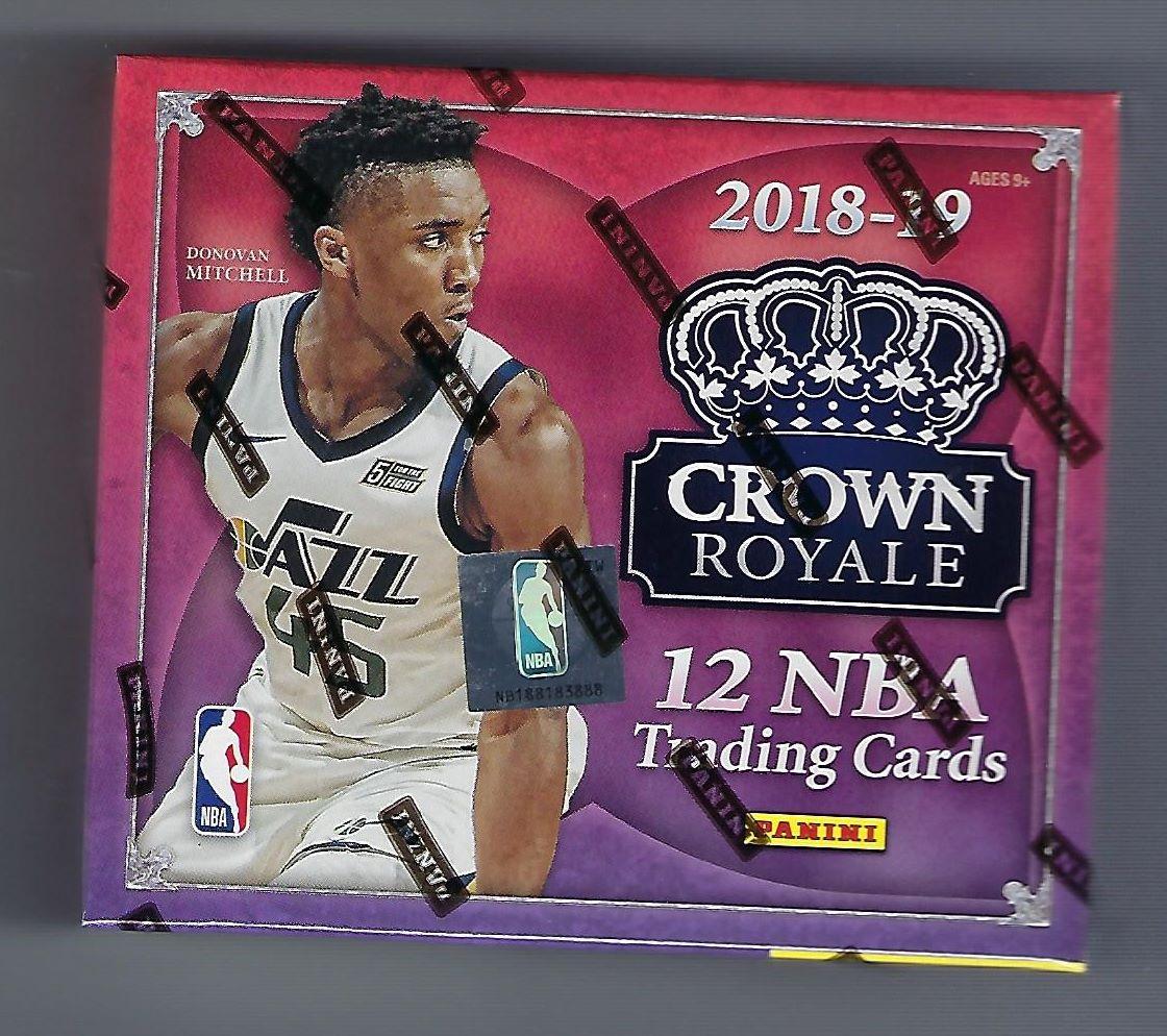 2018-19 Panini Crown Royale Basketball Hobby Box