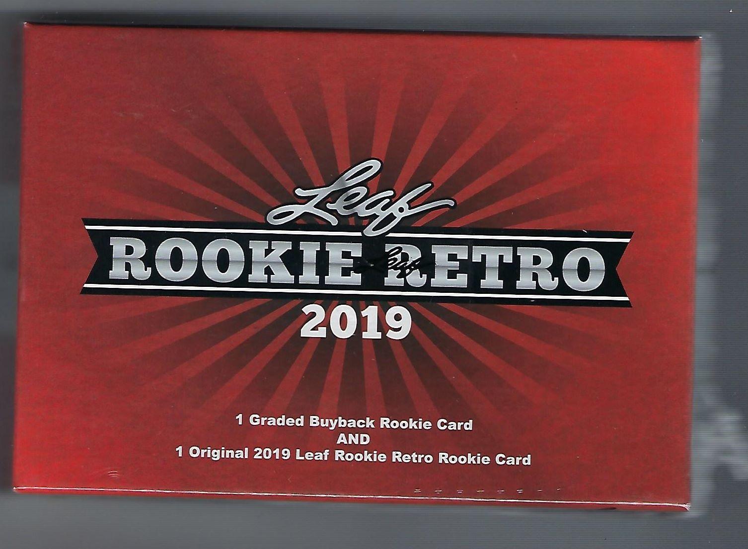 2019 Leaf Rookie Retro Hobby Box