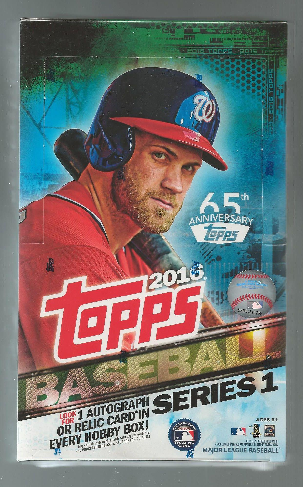 2016 Topps Regular Baseball