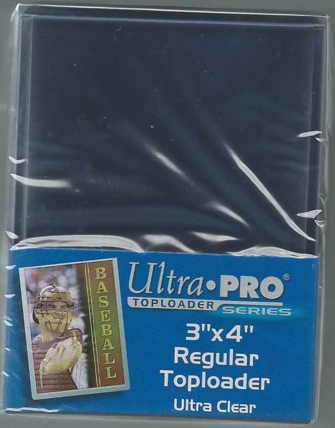 25 Ultra Pro Regular  Toploads 1 Pack