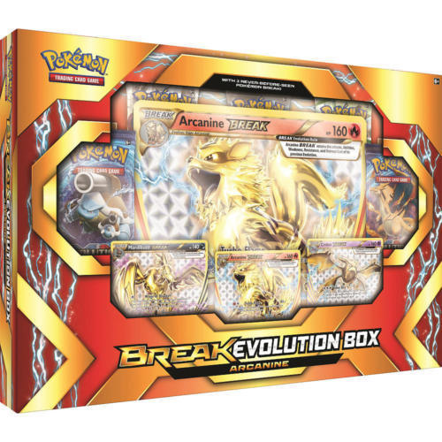Pokemon Evolution Arcanine Box