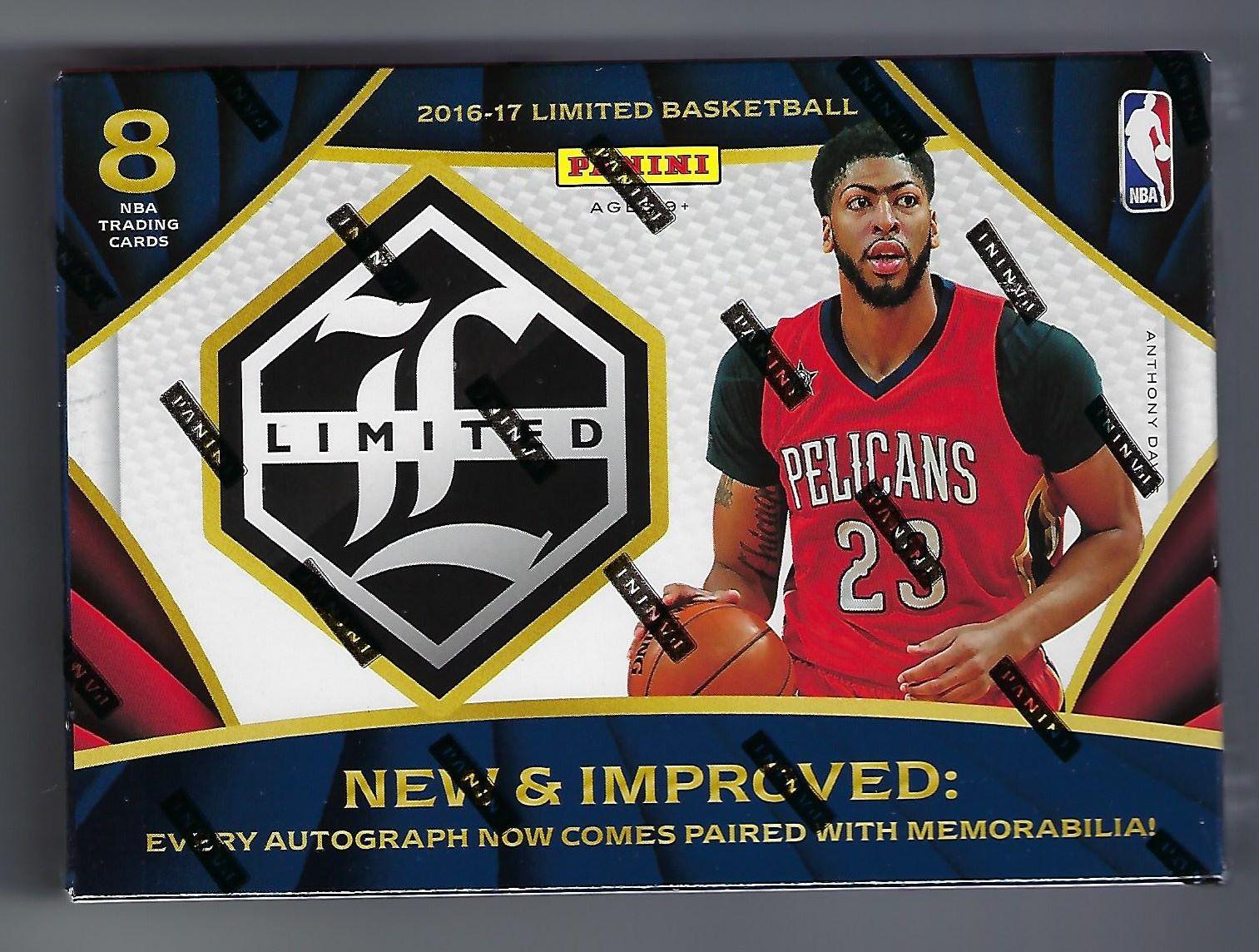 Panini 2016/17 Limited Basketball Box
