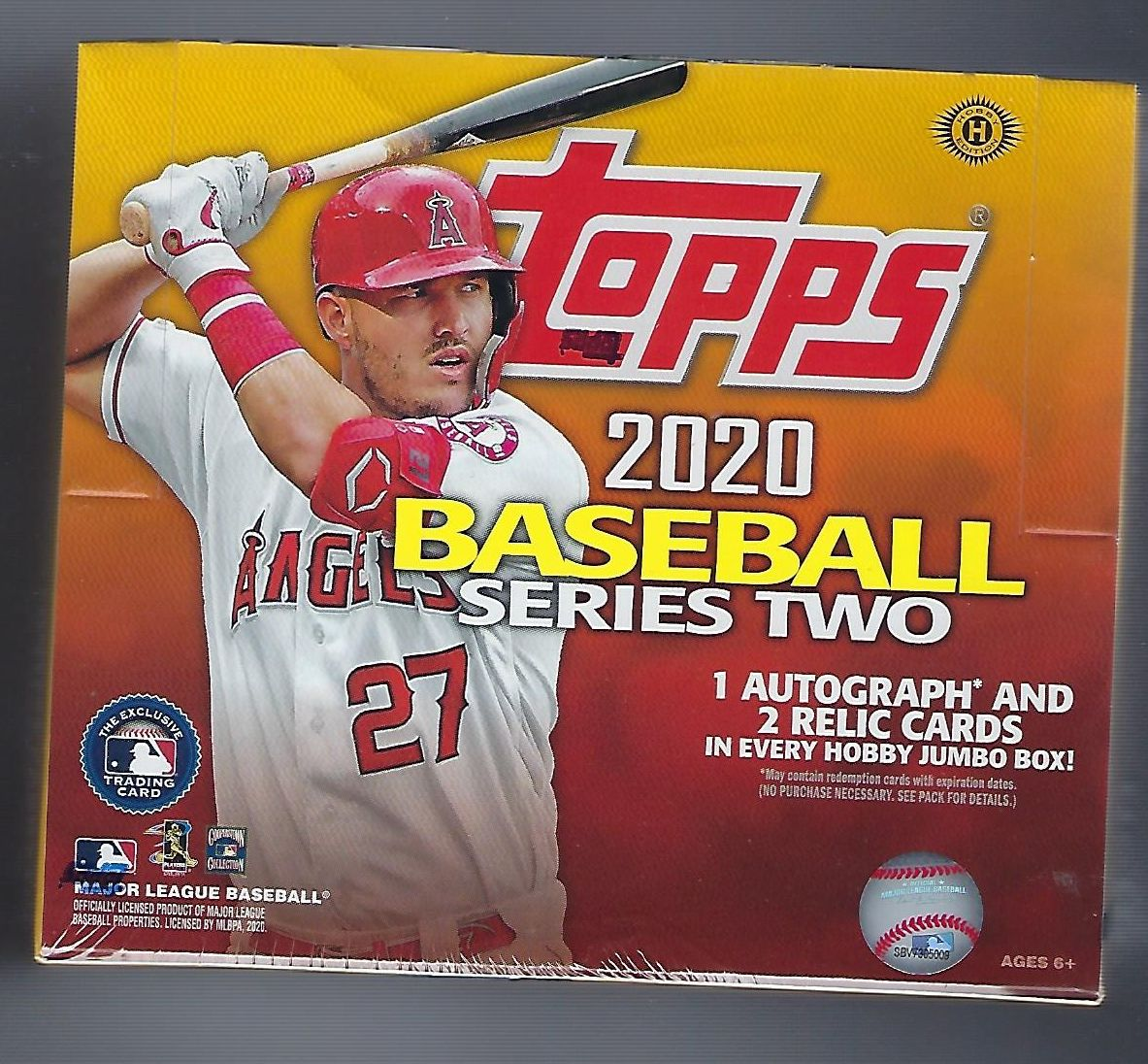 2020 Topps Baseball Series 2 Jumbo