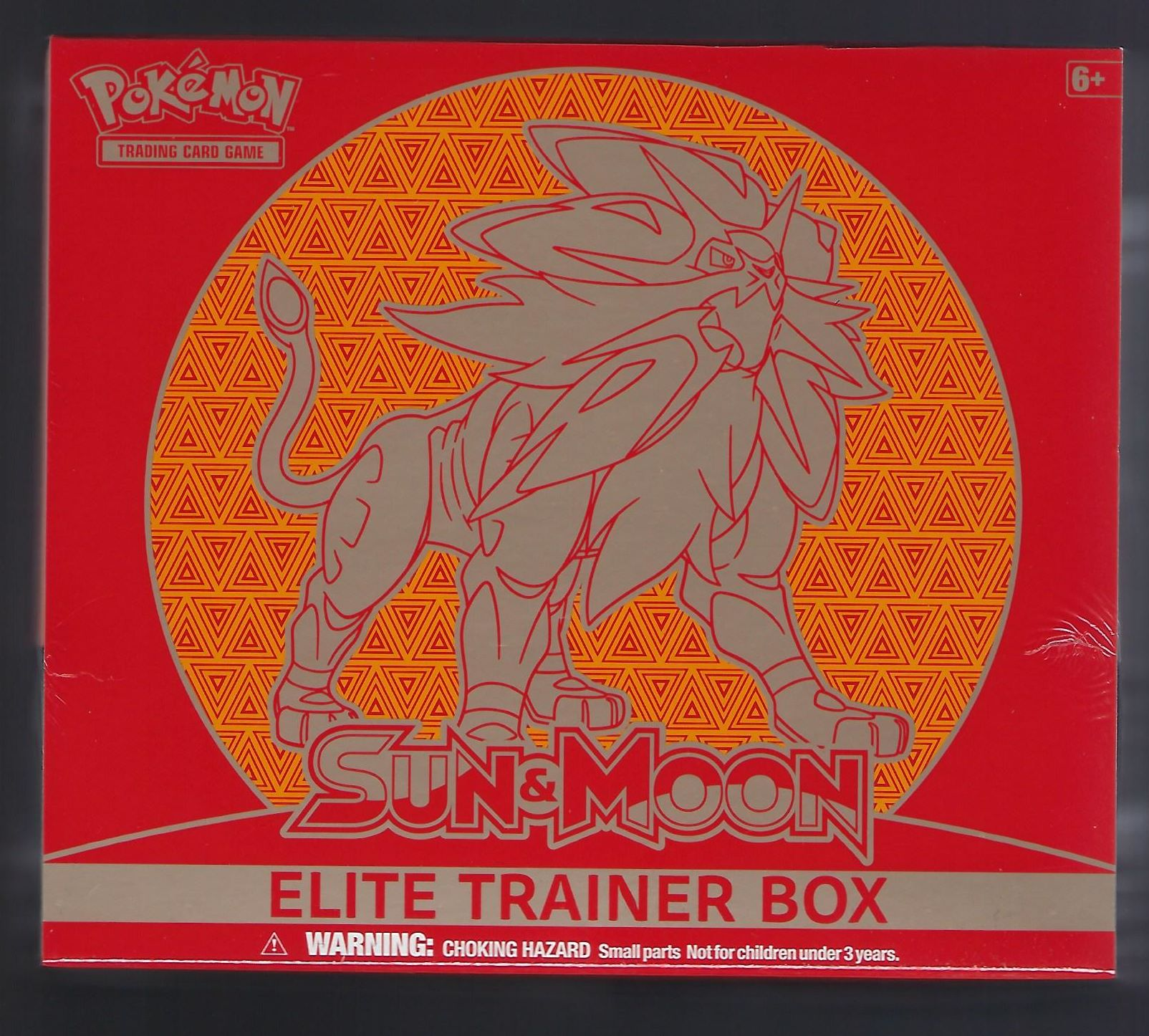 Pokemon Sun & Moon Elite Trainer Solgaleo
